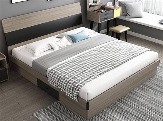 学校储物公寓床 板式公寓床1.5米