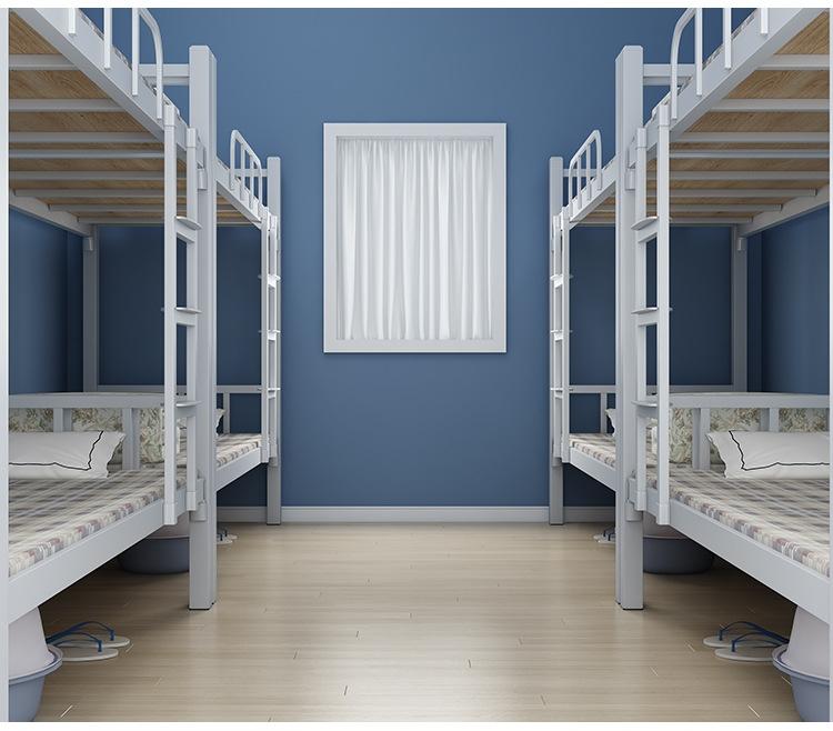 学生宿舍床上下铺 铁架宿舍床高低床