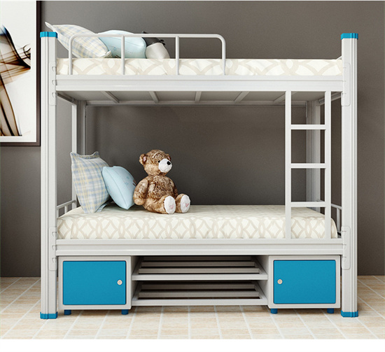 大学宿舍公寓床上下铺 铁架公寓床双层