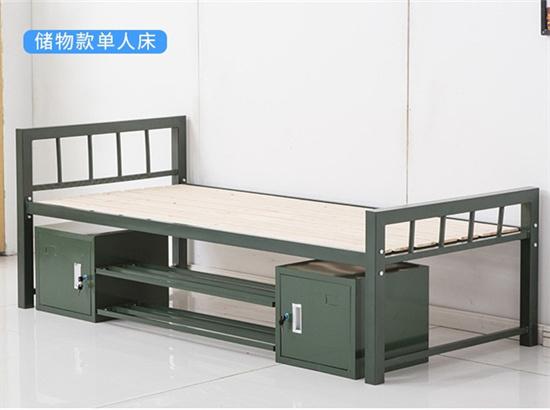 学校公寓铁架床单人 军训铁架床午休1.2米