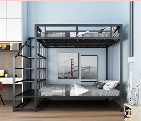 学生公寓高架床上下床 宿舍高架床双层