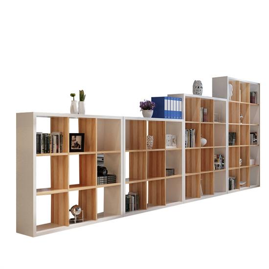 小学阅览室书柜展示柜隔断 图书陈列展示柜阶梯式