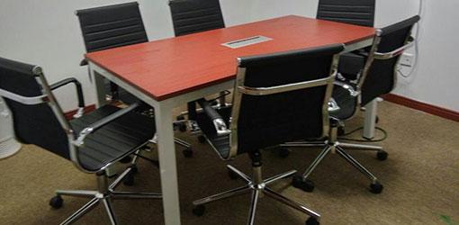 学校6人会议桌-品源学校家具定制