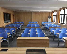上海中学多媒体教室家具定制案例_上海中