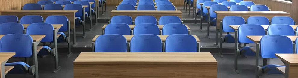 多媒体教室桌椅-品源学校家具定制