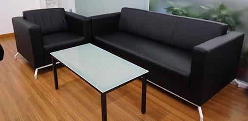 办公室接待沙发-品源学校家具定制