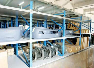 汽车4S店阁楼式货架设计方案