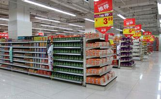 杨浦区长白新村街道购买货架的请示