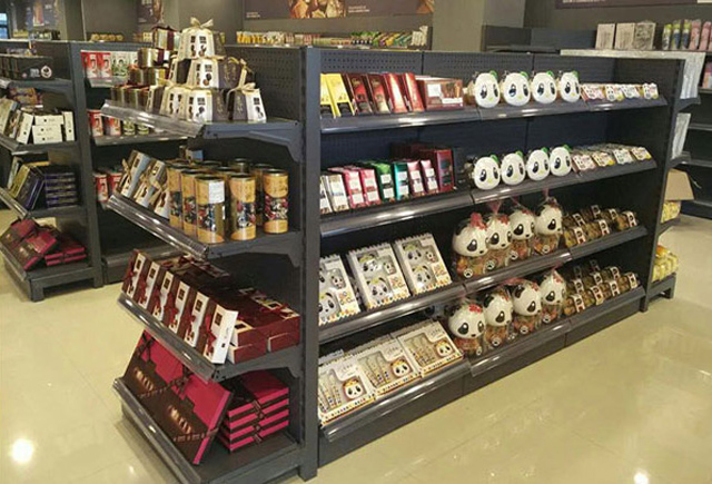 超市货架 超市单面货架 超市双面货架