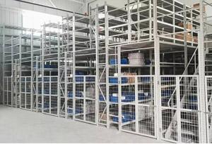 上海中型阁楼式货架钢制