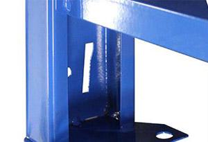 中型层板货架焊脚片设计