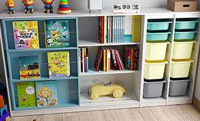 幼儿园书柜