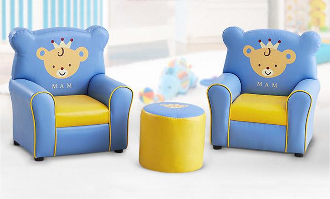 幼儿园儿童沙发定制-早教中心沙发生产厂