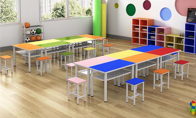 幼儿园儿童桌椅-幼儿园儿童用桌椅