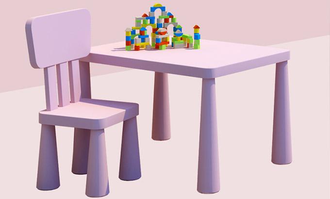儿童课桌椅-早教中心儿童桌椅