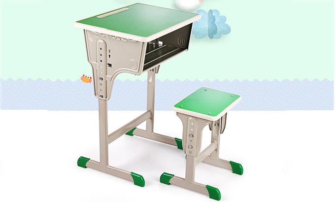 课桌椅一体-定做小学生课桌