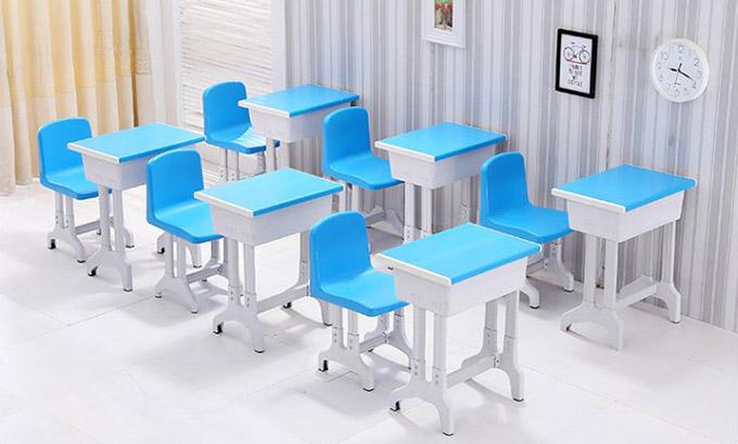成套课桌椅-单人课桌椅定制