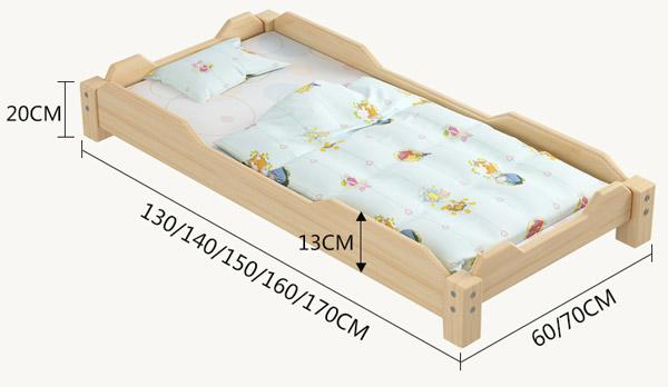 幼儿园儿童床尺寸