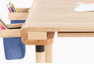 幼儿园书桌笔袋设计