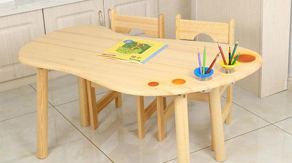 幼儿园书桌优点