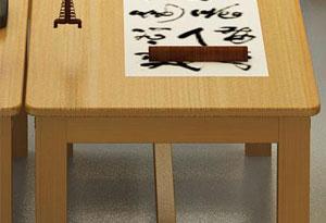 学生培训课桌椅腿撑