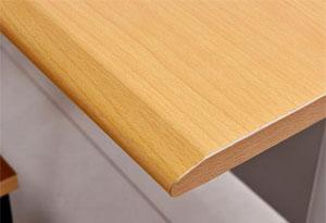 阅览桌圆角设计