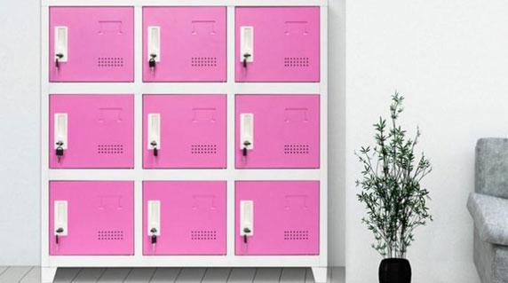 教室学生书包柜设计