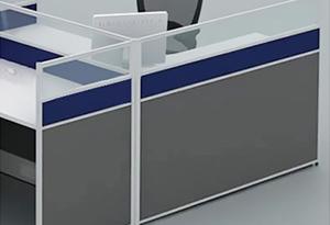 员工桌隔断桌面