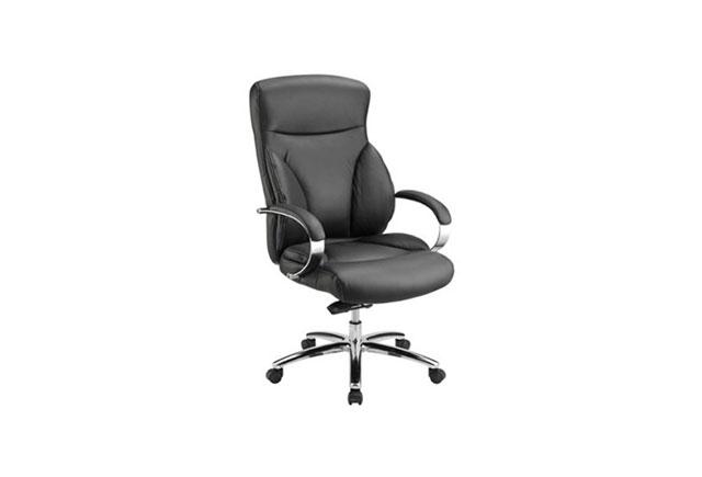 真皮老板椅 黑色总裁椅