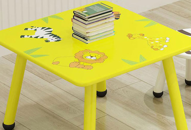 兒童閱覽桌椅—兒童圖書館桌椅—幼兒園家具