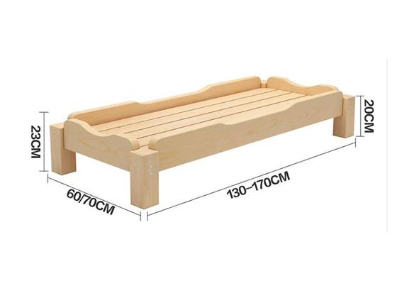 幼儿园小班床尺寸图