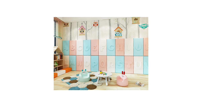 幼儿园墙软包样式