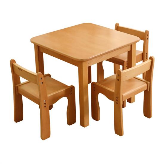 幼��@��木餐桌椅 幼��@�和�餐桌方桌�L桌