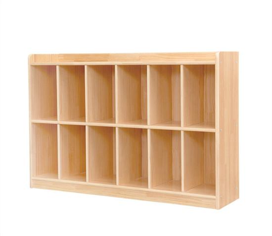 幼儿园教室木质书包柜书包架 学前班幼儿园儿童书包柜
