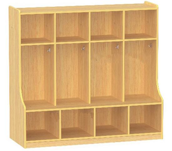 幼儿园衣帽间柜子衣帽柜 幼儿园衣帽柜衣柜更衣柜