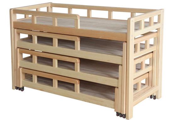 幼儿园抽屉床抽床活动床 幼儿园抽屉床推拉床四层