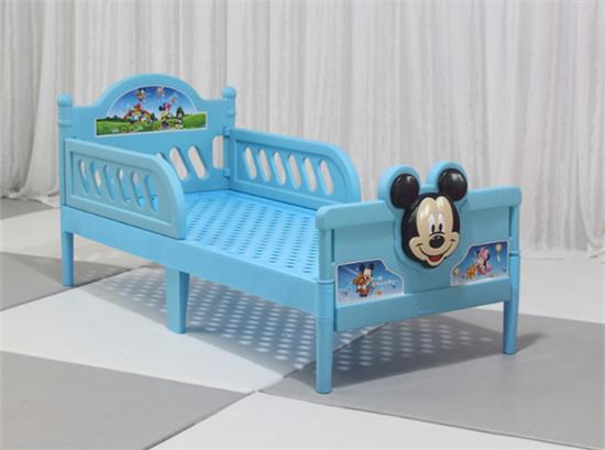幼儿园大班床单人小床 幼儿园塑料大班床卡通床