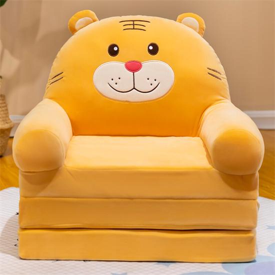 幼儿园儿童折叠沙发床 幼儿园沙发床卡通小沙发