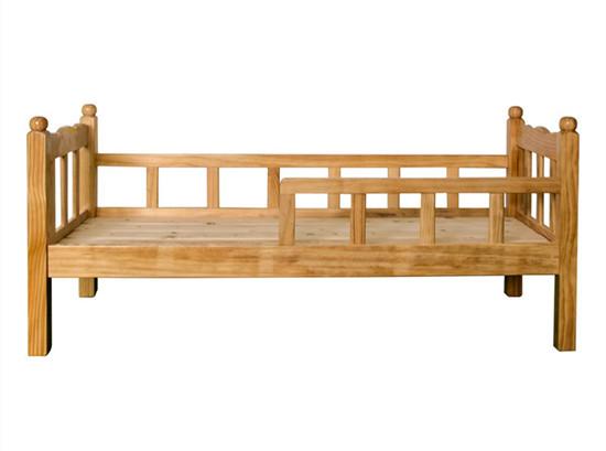 幼儿园儿童床实木床 托班幼儿园床儿童床护栏床
