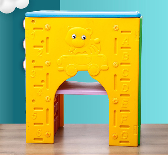 幼儿园塑料茶水桶柜架 幼儿园三合一茶水桶柜口杯架毛巾架