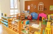 上海虹口区早教教室软包装修图片