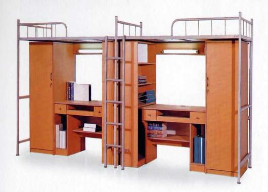 学生公寓组合床 高架铁床 WXSC00