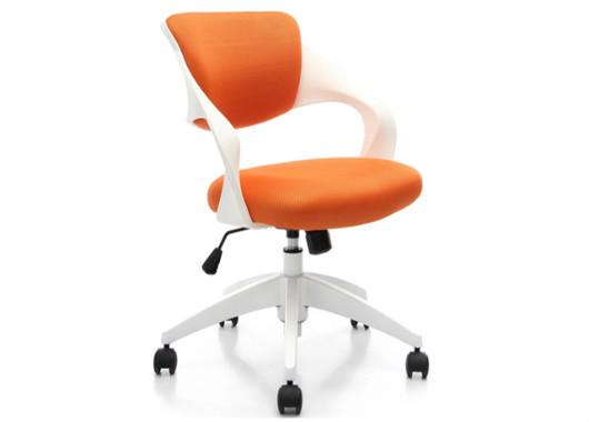 橘色时尚办公转椅 会议转椅 HYY040