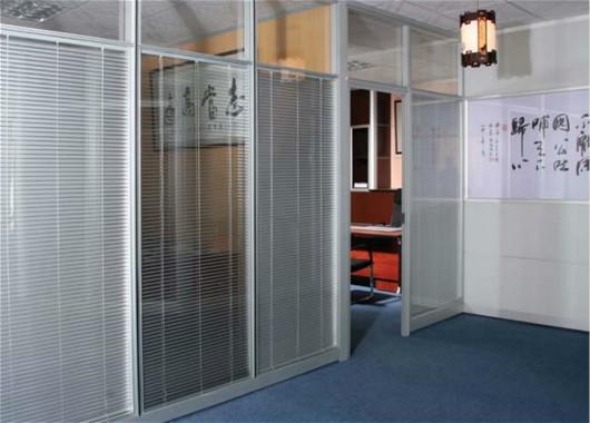 上海双玻百叶隔墙-双玻百叶隔断