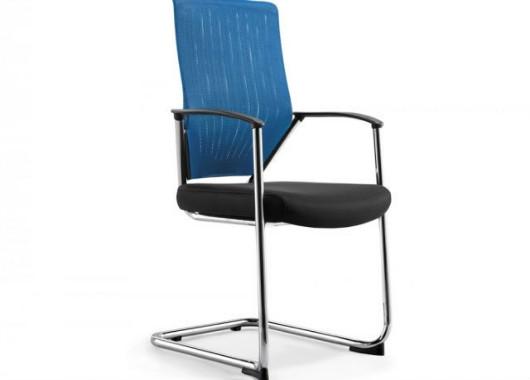 职员椅电脑椅 防滑弓形会议椅 HYY020