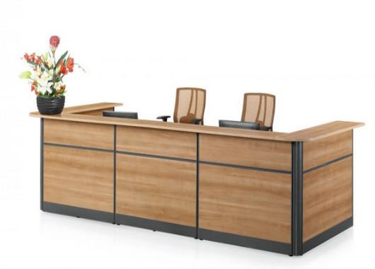 简约现代时尚接待台 办公室接待桌 WQT015