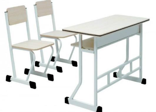 双人学生课桌椅 学校学生桌椅 KZY150903