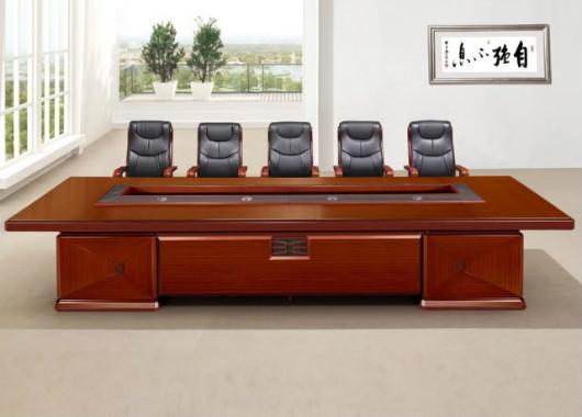 实木喷漆会议桌 大型董事会议桌