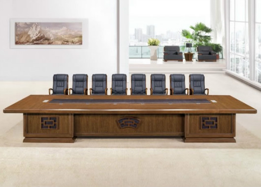 简约现代实木会议桌 时尚大型办