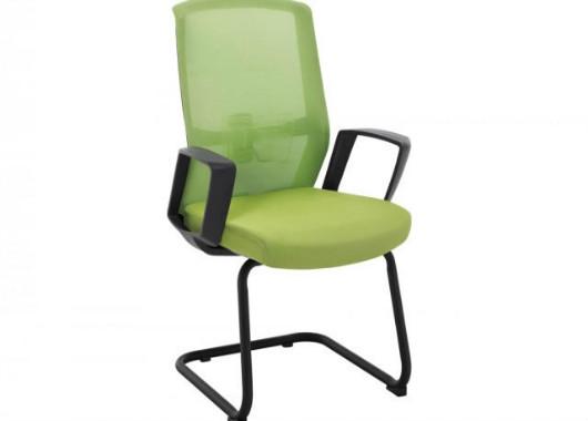 网布电脑椅 弓形会议椅 HYY037